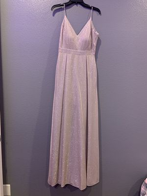 Rose gold prom dress for Sale in Princeton, TX