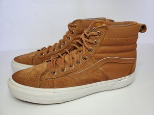 Mens Vans Sk8 Hi Wheat Brown Scotchgard Protector 3m Size 10.5 US for Sale in Los Angeles, CA