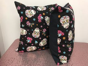 Cotton Skull Throw Pillows for Sale in Tinley Park, IL