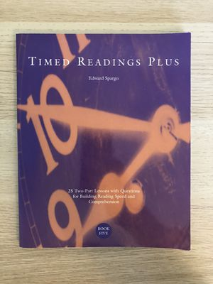 Time reading plus 5 for Sale in Columbia, SC