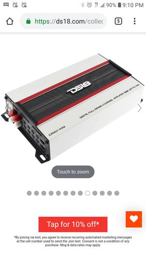 ds18 candy x4w 1600 watt 4 channel amp for Sale in Hollywood, FL
