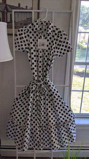 Women's Dress XXS Polka Dot Dress. NEW for Sale in Greenville, RI