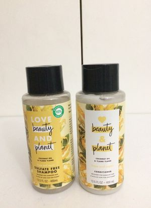 Love Beauty & Planet Coconut Oil and Ylang Ylang Shampoo & Conditioner Combo Set for Sale in Los Angeles, CA