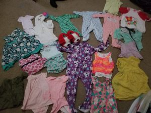Clothes babye one month to 2 year one backage for Sale in Rolla, MO