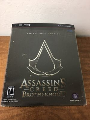 Assassin's Creed: Brotherhood [Collector's Edition] Playstation 3 for Sale in Union City, CA