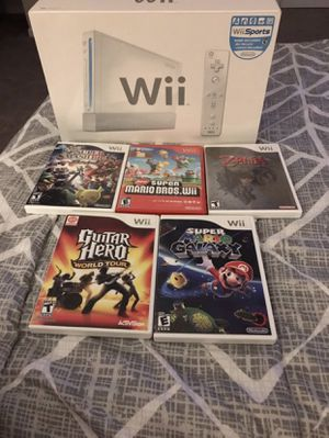 Nintendo Wii with Games & Controllers for Sale in Kennesaw, GA