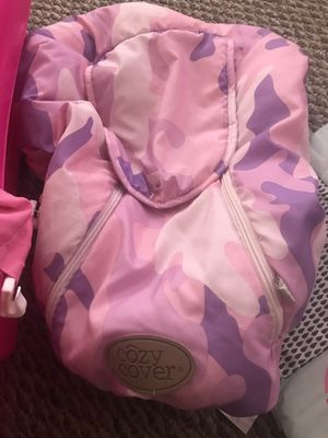 Tub and car seat cover for winter for Sale in Penbrook, PA