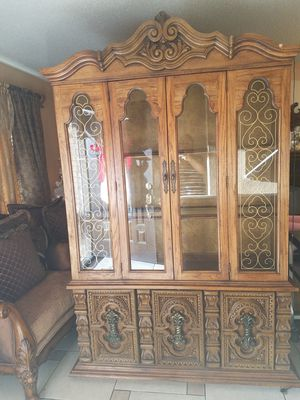 Beautiful antique hutch for Sale in TX, US
