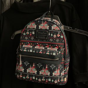 NEW Disney Parks Loungefly 2020 Christmas Holiday Ugly Sweater Mini Backpack for Sale in Yorba Linda, CA