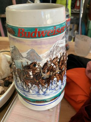 Budweiser steins for Sale in Snohomish, WA