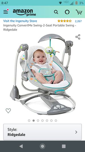 Ingenuity Riverdale Baby Seat and Swing for Sale in Parker, CO