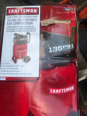 Craftsman Air Compressor for Sale in Joint Base Andrews, MD