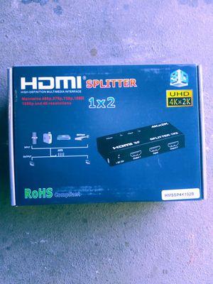 Hdmi splitter 1x2 for Sale in Avondale, AZ