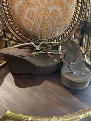 AMERICAN EAGLE Brown Platform Heels for Sale in Spring, TX