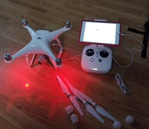 DJI phantom 4 pro drone with accessories for Sale in Hoboken, NJ