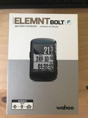 Wahoo ELEMNT BOLT bundle for Sale in Seattle, WA