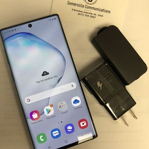 Samsung Galaxy Note 10 unlocked store warranty for Sale in Medford, MA