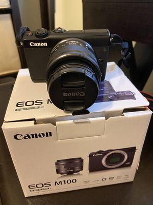 Canon EOS M100 for Sale in Yucaipa, CA