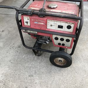Honda Generator EB 3500x Works Great ! $340 for Sale in Riverside, CA