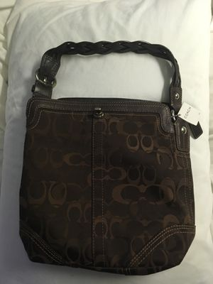 NWT coach chocolate Bag for Sale in Danvers, MA