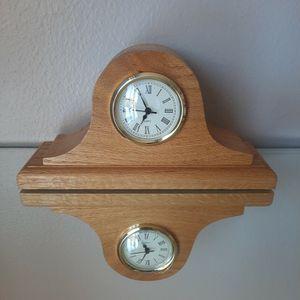 Wooden Quartz Clock for Sale in Houston, TX