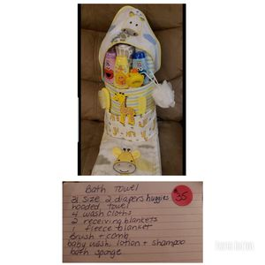 Diaper cake for Sale in Frostproof, FL