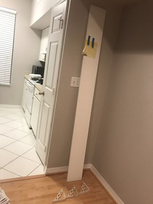 Microwave and shelf and TV and two tables that the TV set on for Sale in Westchase, FL
