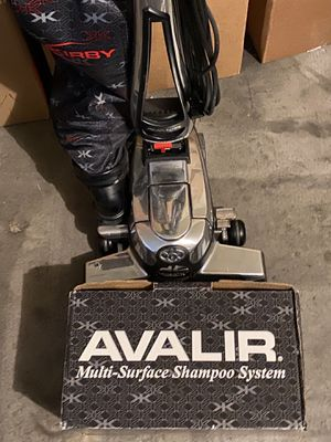 Kirby Avalir G10D Upright Vacuum Cleaner With Shampooer (read description) for Sale in Henderson, NV