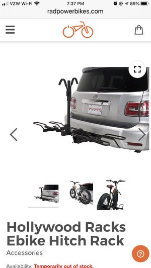 Hollywood Ebike rack for Sale in Silverdale, WA