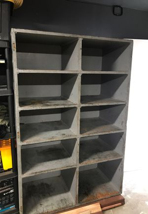 Wall garage shelves good condition heavy duty For free for Sale in Patterson, CA