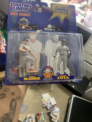 Sosa and McGwire action figure for Sale in North Las Vegas, NV