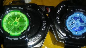 Two g shock watches with cases sale for $100 for Sale in Appleton, WI