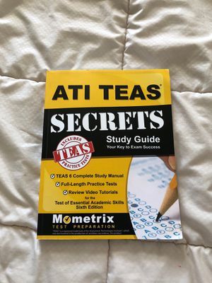 ATI TEAS study guide (nursing) for Sale in Oshkosh, WI