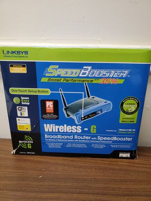 Linksys wireless router for Sale in Miami, FL