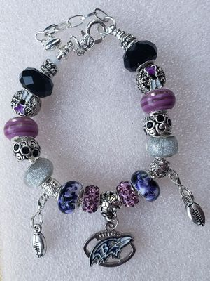 Baltimore ravens charm bracelet 1@ $20 or 2@ $30 for Sale in Baltimore, MD
