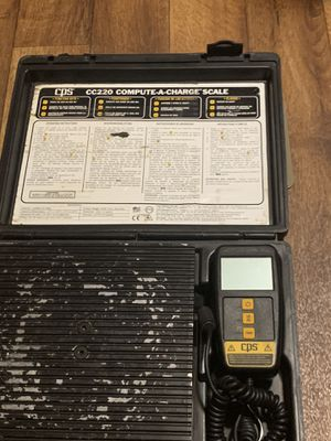 HVAC tools cps c220 compute-A charge scale asking 150.00 or best offer for Sale in Pinnacle, NC