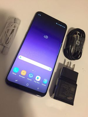 """Samsung Galaxy S8 Plus ,,Factory UNLOCKED Excellent CONDITION """"aS liKE nEW"""" for Sale in Springfield, VA"""
