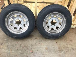 Trailer tires 8.75x16.5 LT for Sale in Virginia Beach, VA