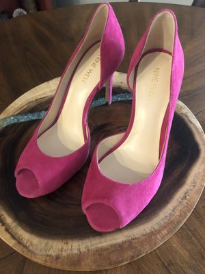 Hot pink Nine West Peep Toe Pumps! for Sale in NEW PRT RCHY, FL