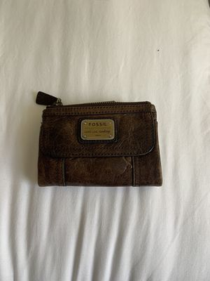 Brown Fossil Wallet for Sale in Cerritos, CA