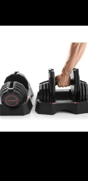 💪💪BRAND NEW, IN BOX-Weider Select A-Weight Adjustable 100LB Dumbbells set💪 for Sale in Torrance, CA