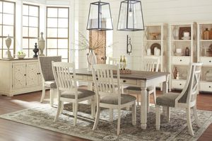 💧Bolanburg Antique White/Oak Dining Room Set | D647 (SameDay Delivery)💧 for Sale in Glen Burnie, MD