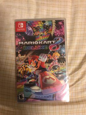Mario Kart 8 Deluxe for Nintendo Switch for Sale in Montebello, CA