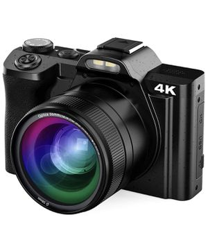 4K Digital Video Camera 48mp with 16x Digital Zoom, 3.5 Inch WiFi YouTube Camera, IPS Touch Screen for Sale in Secaucus, NJ