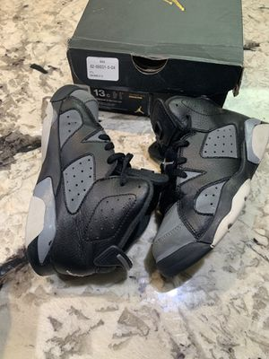 Nike Air Jordan 6 Retro Black/White-Cool Shoes Sz 13C for Sale in Washington, DC