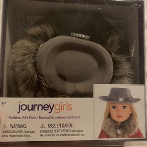Journey Girls American Girl Doll Fashion Gray Hat Toy for Sale in Beverly Hills, CA