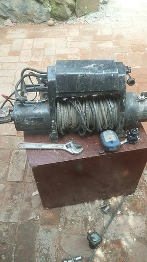 Warn winch 8000 pound for Sale in Portland, OR