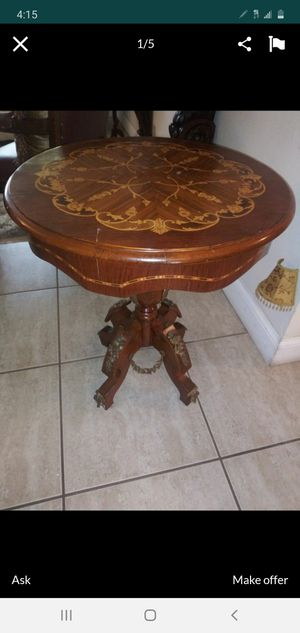 Antique table for Sale in Hialeah, FL