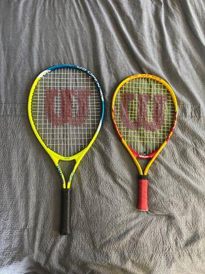 Wilson tennis rackets for Sale in Bridgeport, CT