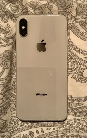 iPhone X 64 gb silver for Sale in Lincoln Acres, CA